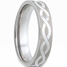Buy coi Jewelry Tungsten Carbide Infinity Wedding Band Ring