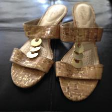 Buy Dexflex wedge Sandals Size 7.5 beautiful condition