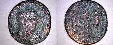 Buy 330-36AD Roman Imperial Constantine II AE17 - 2 Soldiers w/ Standards -SMTS Mint