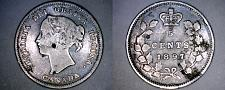 Buy 1897 Canada 5 Cent World Silver Coin - Canada - Victoria