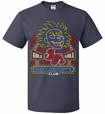 Buy Bjs Gentleghost's Club Adult Unisex T-Shirt Pop Culture Graphic Tee (6XL/J Navy) Humo