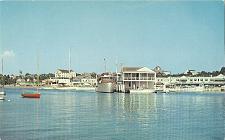 Buy POSTCARD YACHTS SAILBOATS SKIFFS BOATS HARBOR RHODE ISLAND