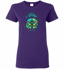 Buy Face Of Rapture Unisex T-Shirt Pop Culture Graphic Tee (M/Purple) Humor Funny Nerdy G