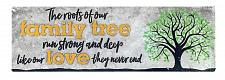 Buy :10856U - Root Of Our Family Tree Tabletop Decorative Sign Plaque