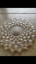 Buy gorgeous glass decorative serving plate