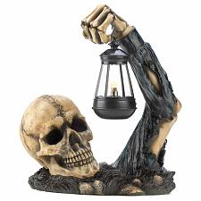 Buy 12612U - Sinister Skeleton Figure Holding Lantern Light