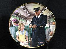 Buy Train Collector Plate Ted Xaras Men of the Rails The Conductor Vintage