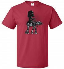 Buy Dark Walker Unisex T-Shirt Pop Culture Graphic Tee (2XL/True Red) Humor Funny Nerdy G