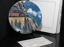 Buy Train Collector Plate Ted Xaras White Pass Gateway to the Yukon Vintage