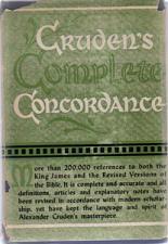 Buy CRUDEN'S COMPLETE CONCORDANCE :: 1949 HB w/ DJ
