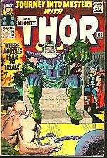 Buy Journey Into Mystery THOR 122 Stan Lee & Jack Kirby Marvel Comics 1965 1stSeries
