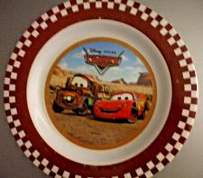 Buy CARS Melamine Plate For Boys and Girls EUC
