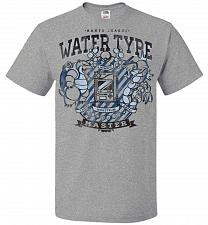 Buy Water Type Champ Pokemon Unisex T-Shirt Pop Culture Graphic Tee (2XL/Athletic Heather