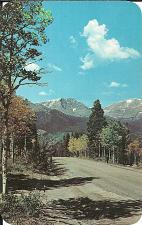 Buy Mt Ypsilon Trail Ridge Road Rocky Mtn Park Colorad Vintage Postcard