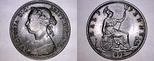 Buy 1891 Great Britain 1/2 Penny World Coin - UK - England - Victoria