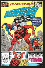 Buy DAREDEVIL ANNUAL #3 VF+ BAGLEY DR. STRANGE 1989 MARVEL COMICS SPIDER-MAN