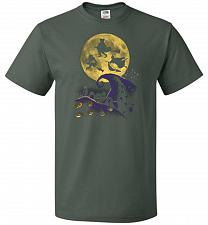 Buy Hocus Pocus Halloween Unisex T-Shirt Pop Culture Graphic Tee (3XL/Forest Green) Humor