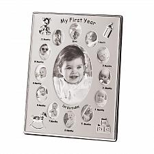 Buy 39783U - My First Year Metal 4x6 Photo Picture Frame