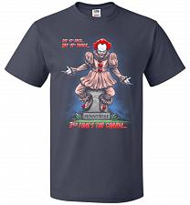 Buy Pennywise The Dancing Clown Adult Unisex T-Shirt Pop Culture Graphic Tee (XL/J Navy)