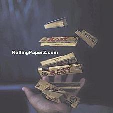 Buy RAW Rolling Papers TOSS UP BUNDLE (2 packs King Size)+(3 pks 1 1/4 )+( 3 X Tips)