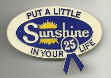 Buy Vintage Put a Little Sunshine in Your Life 25 Collectible Pinback Button Pin