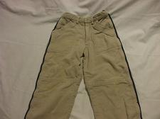 Buy Brown Cordouroy Pants With Blue Detailing 100% Cotton Size 6