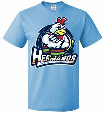 Buy Hermanos New Mexico Unisex T-Shirt Pop Culture Graphic Tee (S/Aquatic Blue) Humor Fun