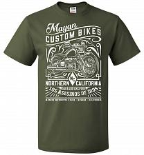 Buy Mayan Custom Bikes Sons Of Anarchy Adult Unisex T-Shirt Pop Culture Graphic Tee (L/Mi