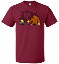 Buy A Common Interest Unisex T-Shirt Pop Culture Graphic Tee (S/Cardinal) Humor Funny Ner