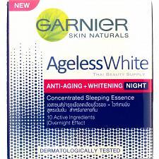 Buy Garnier Ageless White Anti Aging Skin Whitening Night Cream 50ml 1.7oz