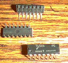 Buy Lot of 25: Fairchild 74S04PC