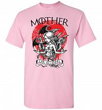 Buy Mother of Dragons Unisex T-Shirt Pop Culture Graphic Tee (XL/Light Pink) Humor Funny