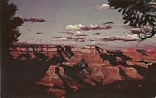 Buy Sunset Grand Canyon Flagstaff and Williams Arizona Old Postcard Unused
