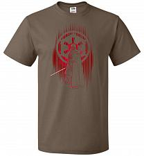 Buy Shadow Of The Empire Unisex T-Shirt Pop Culture Graphic Tee (XL/Chocolate) Humor Funn