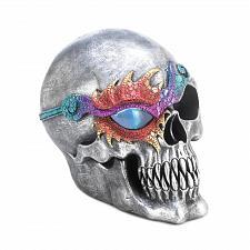 Buy *17519U - Fantasy Skull Skeleton Head Figurine w/LED Light