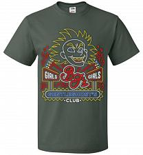 Buy Bjs Gentleghost's Club Adult Unisex T-Shirt Pop Culture Graphic Tee (2XL/Forest Green