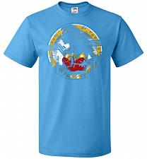 Buy Amazon Girl Unisex T-Shirt Pop Culture Graphic Tee (L/Pacific Blue) Humor Funny Nerdy