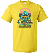 Buy Wild On! Unisex T-Shirt Pop Culture Graphic Tee (4XL/Yellow) Humor Funny Nerdy Geeky