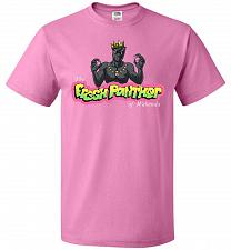 Buy Fresh Panther Unisex T-Shirt Pop Culture Graphic Tee (2XL/Azalea) Humor Funny Nerdy G