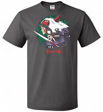 Buy Guardians of the Forest Unisex T-Shirt Pop Culture Graphic Tee (M/Charcoal Grey) Humo