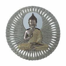 Buy *18339U - Buddha Figure Circular Wall Decoration