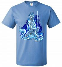 Buy Awaken Unisex T-Shirt Pop Culture Graphic Tee (M/Columbia Blue) Humor Funny Nerdy Gee