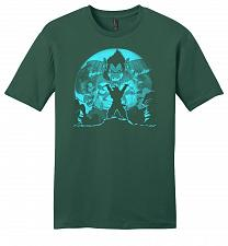 Buy Saiyan Sized Secret Youth Unisex T-Shirt Pop Culture Graphic Tee (L/Evergreen) Humor