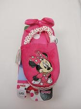 Buy Girls DISNEY Slippers SIZE 13/1 Pink Minnie Mouse Children House Shoes Slip On