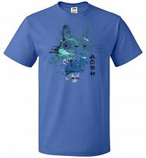 Buy Watercolor Totoro Unisex T-Shirt Pop Culture Graphic Tee (4XL/Royal) Humor Funny Nerd