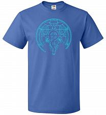 Buy Shadow of Alchemist Unisex T-Shirt Pop Culture Graphic Tee (6XL/Royal) Humor Funny Ne