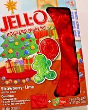 Buy New Jell-O Jigglers Christmas Holiday Mold Kit Strawberry-Lime