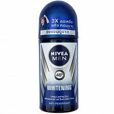 Buy Nivea Men underarm skin Whitening Deodorant Antiperspirant Roll On 50ml