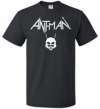 Buy Antman Anthrax Parody Unisex T-Shirt Pop Culture Graphic Tee (3XL/Black) Humor Funny