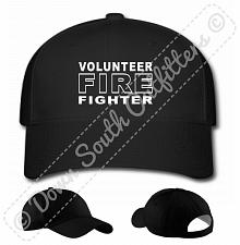 Buy Volunteer Fire Fighter Baseball Hat Ball Cap